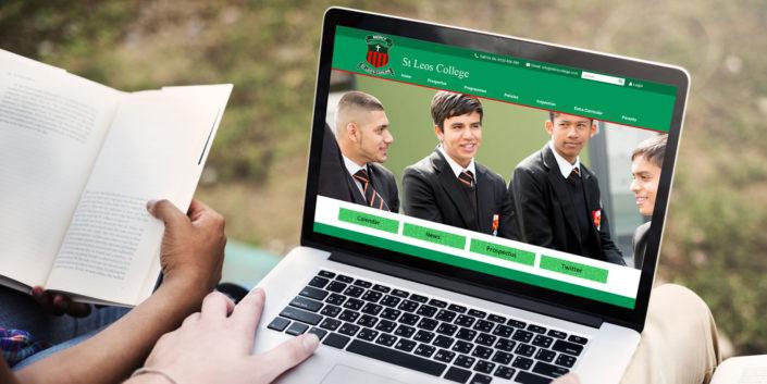 Website design for schools in Dublin